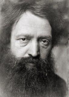 Peter Hille, Foto um 1903